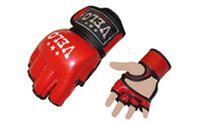 Снарядные перчатки (шингарты) обрезаные VELO (кожа,р-р M,L,XL)