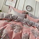 Постельное белье Сатин | Постільна білизна з сатину | Комплект постельного белья. Евро размер., фото 2