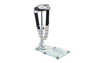 Вибромассажер SOLEX-BM-1200GHKG-C (металл,р-р 80*58*135см,вес польз.до 100кг,6-ремней,стекл.подошва)