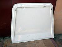 Белые крашенные двери Tavria Pickup ЗАЗ-11055 / стеклопластик, откидывающаяся вверх крышка 110557-8551024-05