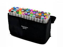 Набор двусторонних маркеров Touch для рисования, скетчинга и дизайна на спиртовой основе 80 штук седьмого поколения белый цвет