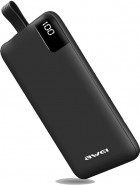 Внешний аккумулятор Power Bank AWEI P67K 10000mA Black