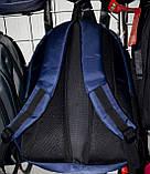 Текстильные рюкзаки для школьников и студентов на 3 кармана на молнии 32*47 см, фото 3