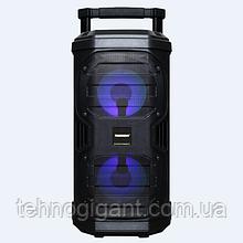 Портативная колонка с микрофонами Temeisheng SL208-22 160W (USB/Bluetooth/Аккумулятор/260W)