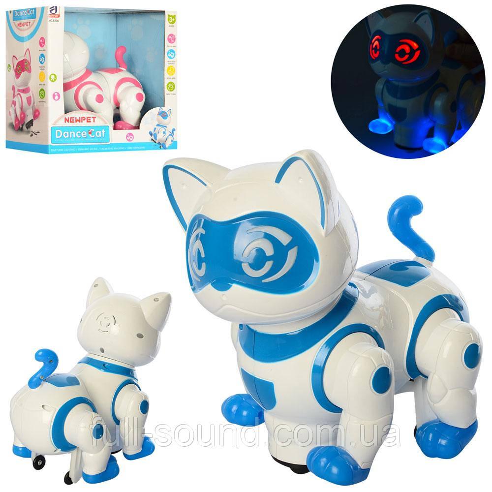 Интерактивная кошка 8206