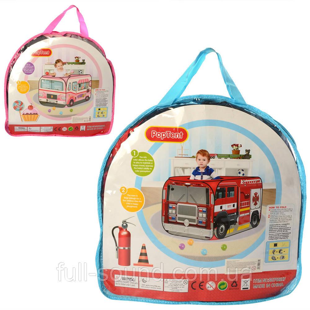 Детская палатка для игр 025