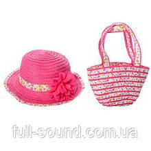 Детский комплект сумочка и шляпа 11538