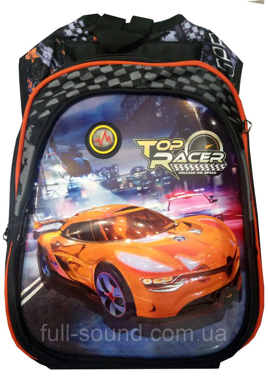 Рюкзак школьный top racer с 3D принтом 4365