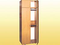 Шкаф для карт, с антресолью —  802х519х2186 мм