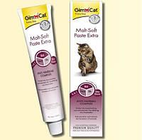 GimCat Malt Soft Extra 100г - Паста для выведения шерсти у Кошек