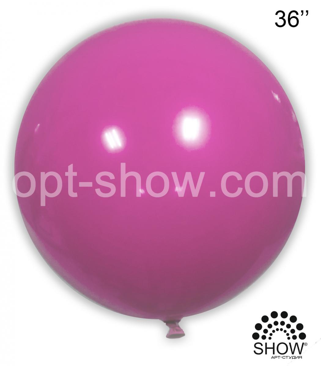 """Шар гигант Фуксия 36"""" (90 см) Арт Шоу"""