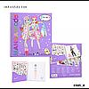 Top model Manga Dress me Up набір Одягни мене ( Набор для творчества Top Model Одень меня Топ Модел ), фото 4
