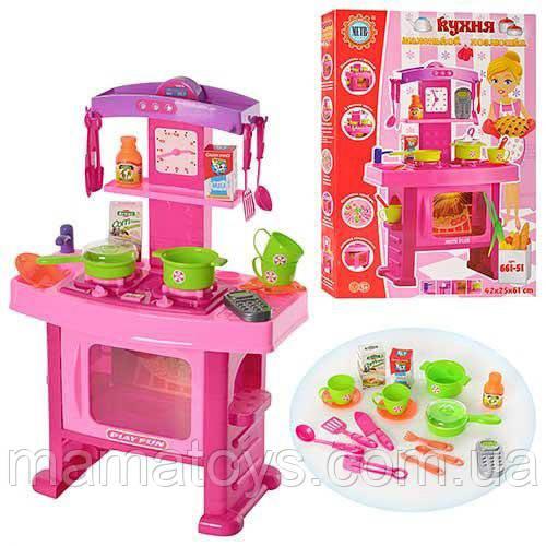 Дитяча ігрова Кухня 661-51 Звук, Світло