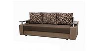 Диван Garnitur.plus Еврокнижка 2 коричневый 230 см (DP-279)