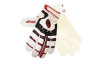 Перчатки вратарские + PVC чехол FB-842 UHLSPORT (PVC, р-р 8,9,10, бело-синий, бело-красный)