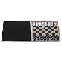 Дорожные мини шахматы-шашки