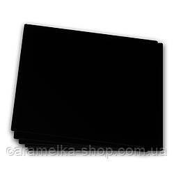 Подложка под торт уплотненная ДВП чёрная, 25см, квадратная