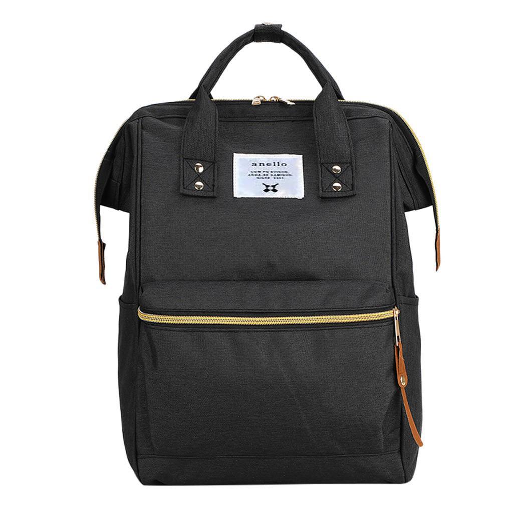 Рюкзак Anello Mommy для мамы и малыша с креплением на коляску EL-1230 Черный