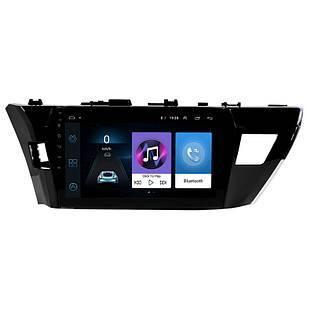 Штатна автомобільна 10 магнітола Toyota Corolla (2014-2017 р. в.) пам'ять 1/16 GPS Wi Fi Android 6