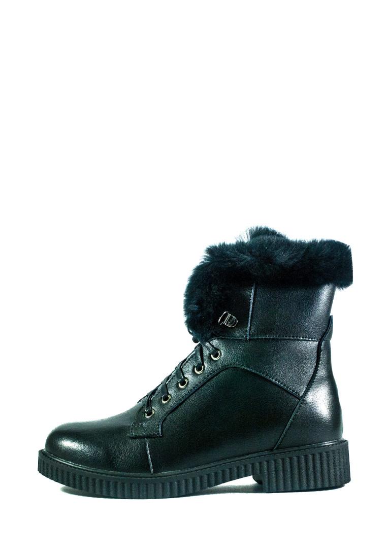 Ботинки зимние женские Fabio Monelli СФ G695H-OE3331188A-6 черные (36)