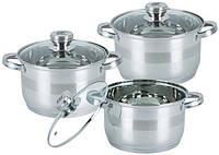 Набор посуды из нержавеющей стали Bohmann BH-06-275, фото 1