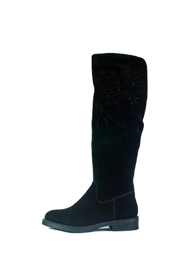 Сапоги зимние женские Lonza СФ BH2058-17RZ-A06 черные (36)