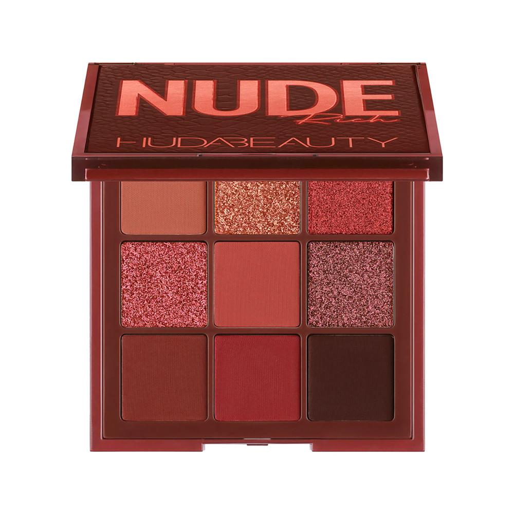 Палетка тіней Huda Beauty Nude Obsessions Eyeshadow Palette - Rich (6291106034288)