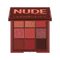 Палетка тіней Huda Beauty Nude Obsessions Eyeshadow Palette - Rich (6291106034288), фото 1