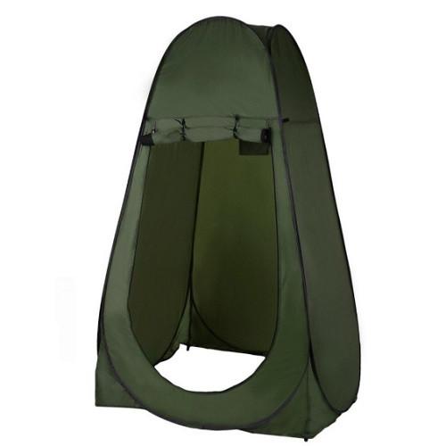 Палатка для переодевания, туалета, душа Stenson MH-3523-1.2, 120х120х180 см, зеленая