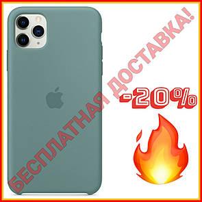 Акция! Силиконовый чехол защитный для Айфона (Cactus/Берёзовый) iPhone 11/11 Про Pro/11 Про Макс Pro Max