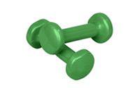 Гантели для фитнеса Радуга (2*1,5кг) TA-0001-1,5кг (виниловое покрытие)