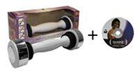 Гантеля SHAKE (2,5LB) 4462 (металл, пластик, Tone Exercise System, цена за 1 гантелю)
