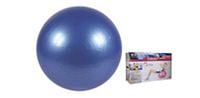 Мяч для фитнеса (фитбол) SOLEX BB-001-22 (PVC, d-55см, 1120г, цвета в ассортименте, ABS-система)