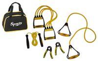 """Набор для фитнеса PS FI-605 (эсп.плечевой 190TR-B,эсп. 380TR,скакалка 475TR,2 эсп.кистевых""""Ножницы"""")"""