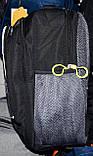 Чоловічі шкільні рюкзаки Мотоцикл 29*37 см, фото 2