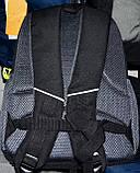 Чоловічі шкільні рюкзаки Мотоцикл 29*37 см, фото 3
