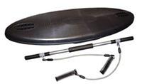 Степ-платформа Овал многофункц. GYM BOARD PS AS-130 (пластик, l-120см, в комплекте палка гимн.+2эсп)