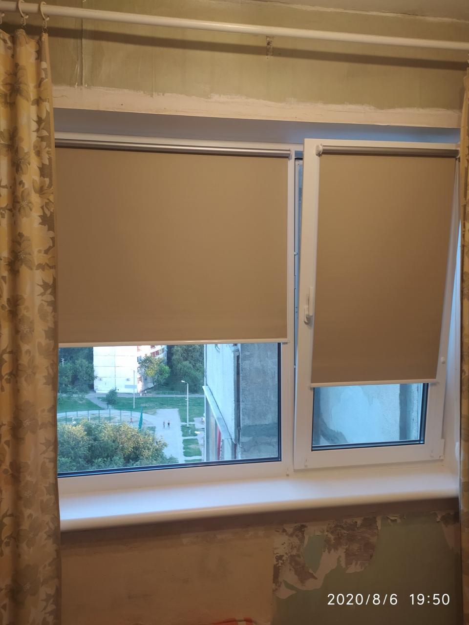 Тканевые роллеты (рулонные шторы открытого типа)