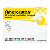 Amorocutan 50 mg/ml wirkstoffhaltiger Nagellack - для лечения грибка ногтей, 6 ml