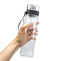 Пляшка для води ZIZ Сердечко