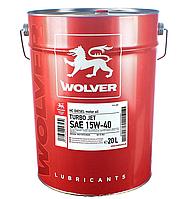 Масло Wolver Turbo Jet 15W-40 кан. 20л