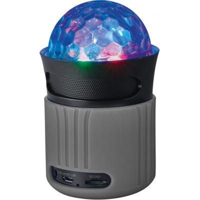 Акустична система Trust Dixxo Go Wireless Bluetooth Speaker party with lights grey (21345)