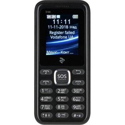 Мобільний телефон 2E S180 Black (708744071118)