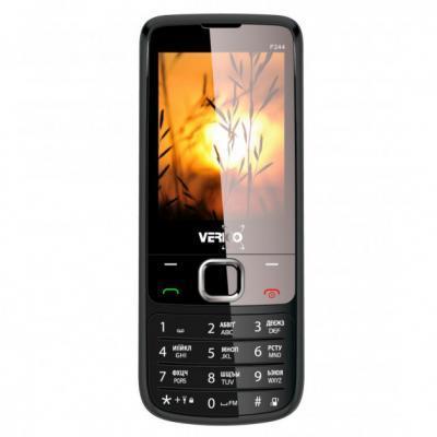 Мобільний телефон Verico Style F244 Black (4713095606724)