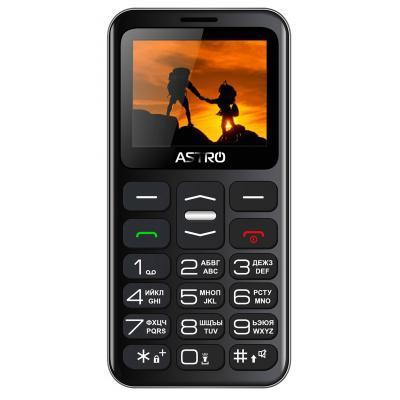 Мобильный телефон Astro A169 Black Gray
