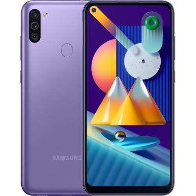 Мобильный телефон Samsung SM-M115F (Galaxy M11 3/32Gb) Violet (SM-M115FZLNSEK)