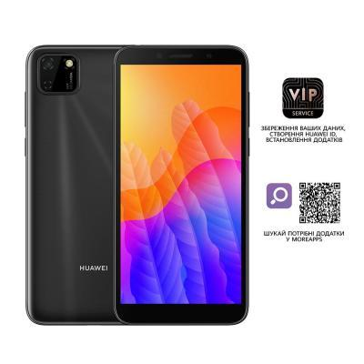 Мобільний телефон Huawei Y5p 2/32GB Midnight Black (51095MTV)