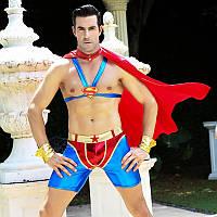 Костюм непобедимого Супермена S/M