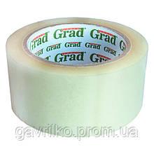 Скотч упаковочный прозрачный 45мм×150м GRAD (8401035)