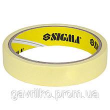 Скотч малярный 19мм×50м SIGMA (8402031)